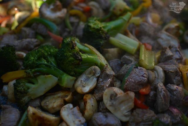 vegetales y vacío a la plancha tererecetas 01