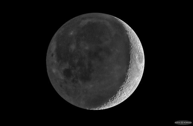 Tutoriel : Photographier la lumière cendrée et le croissant de Lune