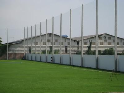 ตาข่ายสนามฟุตบอล24 สนามซ้อมสุพรรณบุรี FC 1