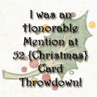 mention honorable chez 52{Christmas} Card Throwdown