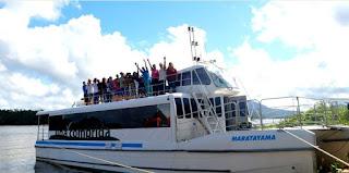 Turismo anuncia passeios do catamarã ao Marujá,Ponta Norte e Boqueirão Sul/Baía dos Golfinhos