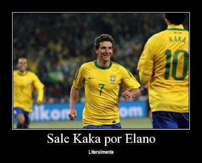 Sale Kaka por Elano