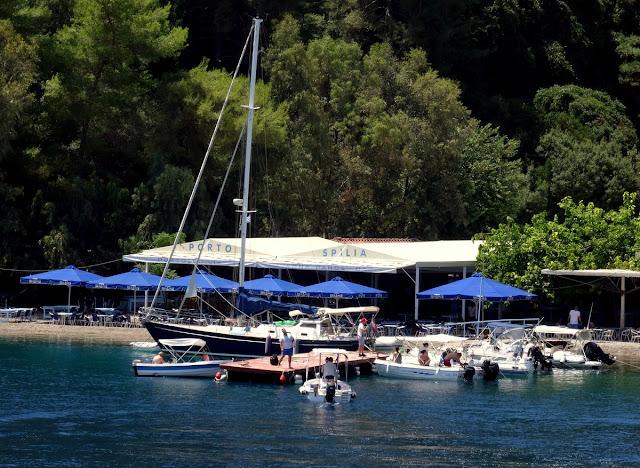Porto Spilia Taverna Meganisi