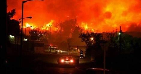 kebakaran israhell