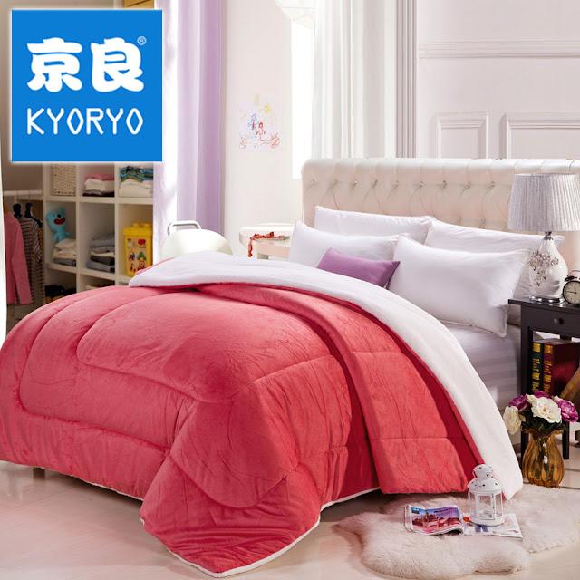 Chăn lông cừu kyoryo 2mx2m3 Nhật Bản chính hãng