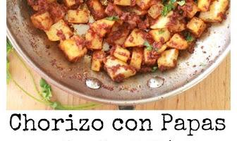 Chorizo con Papas, or Mexican Chorizo with Potatoes