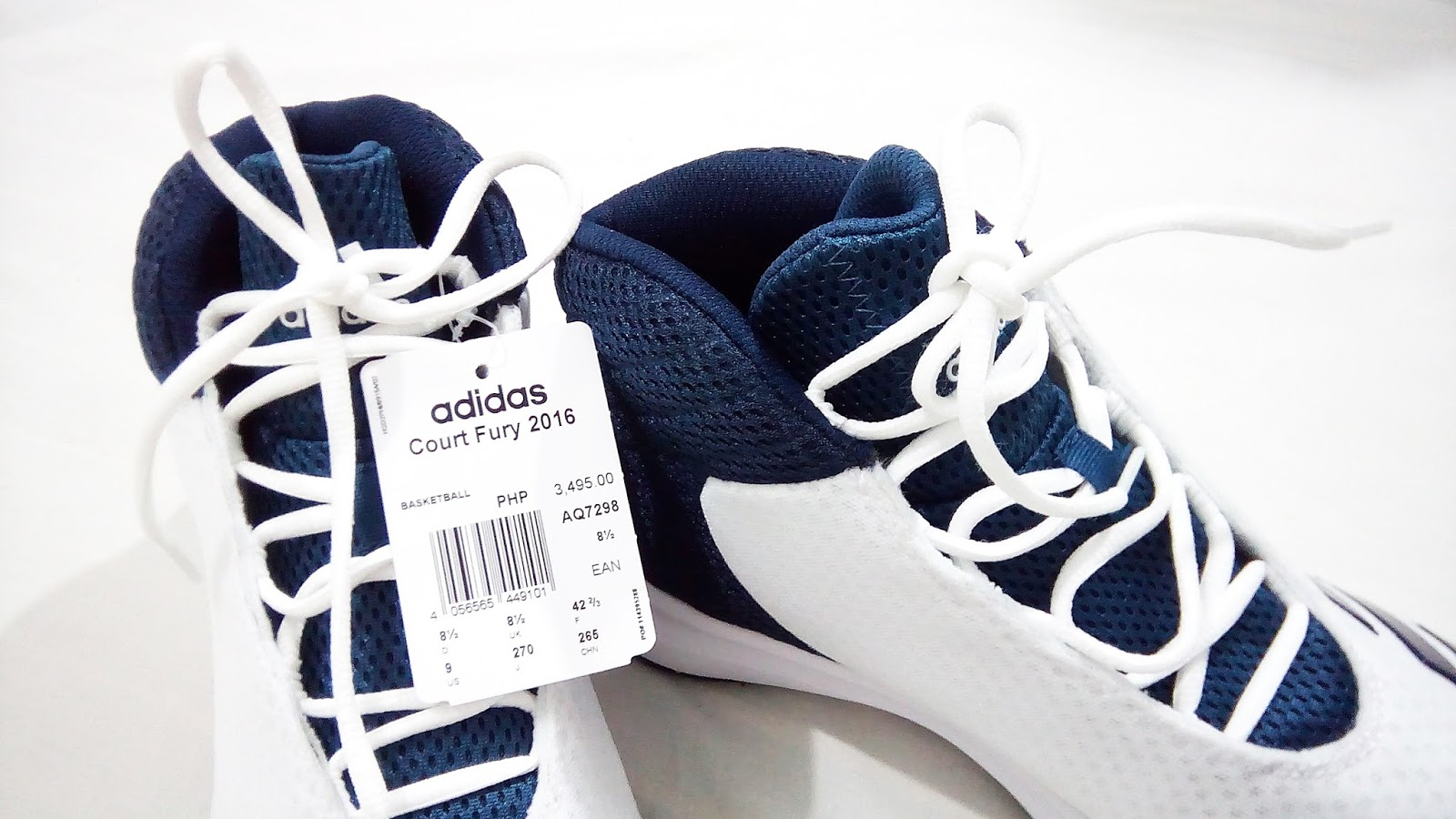 reputable site 37296 1dcf9 ... Brand Adidas Model Court Fury 2016 Mid Shoes Regular Price Php 3,495.00.