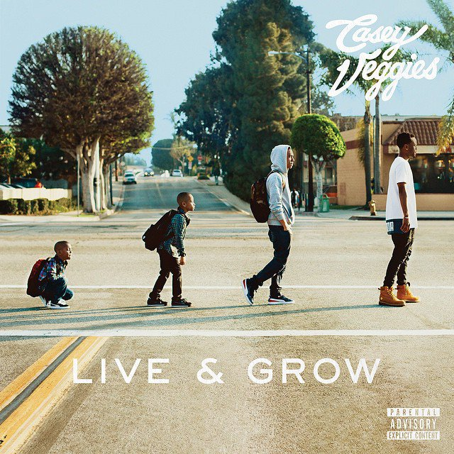 Álbum: Casey Veggies - Live & Grow
