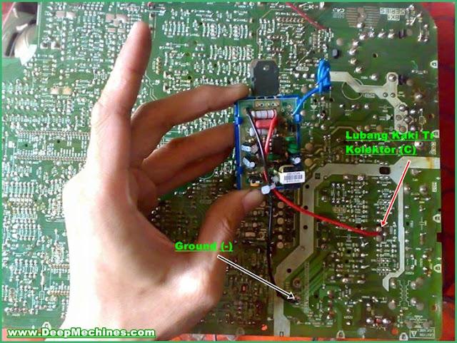 Petunjuk Pemasangan Power Switching Gacun pada Perangkat TV