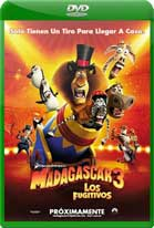 Madagascar 3 Los Fugitivos (2012) DVDRip Latino