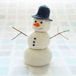 Amigurumi Arizona Snowman