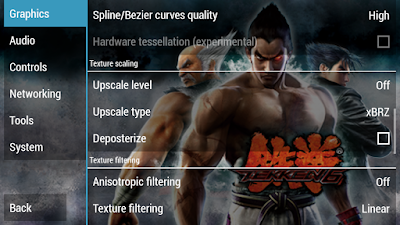 Best PPSSPP Settings for Tekken 7
