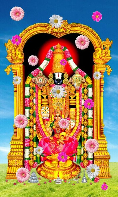 Hindu lord balaji picture
