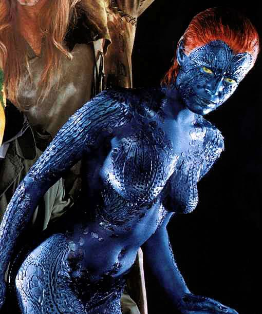 Mystique (Rebecca Romijn) in X-Men movie