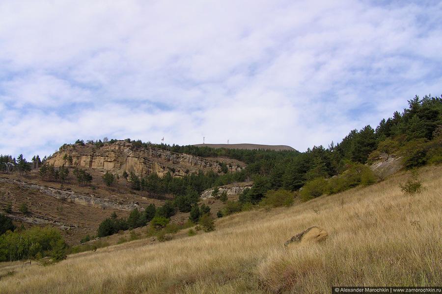 Вид с горы Кольцо близ Кисловодска
