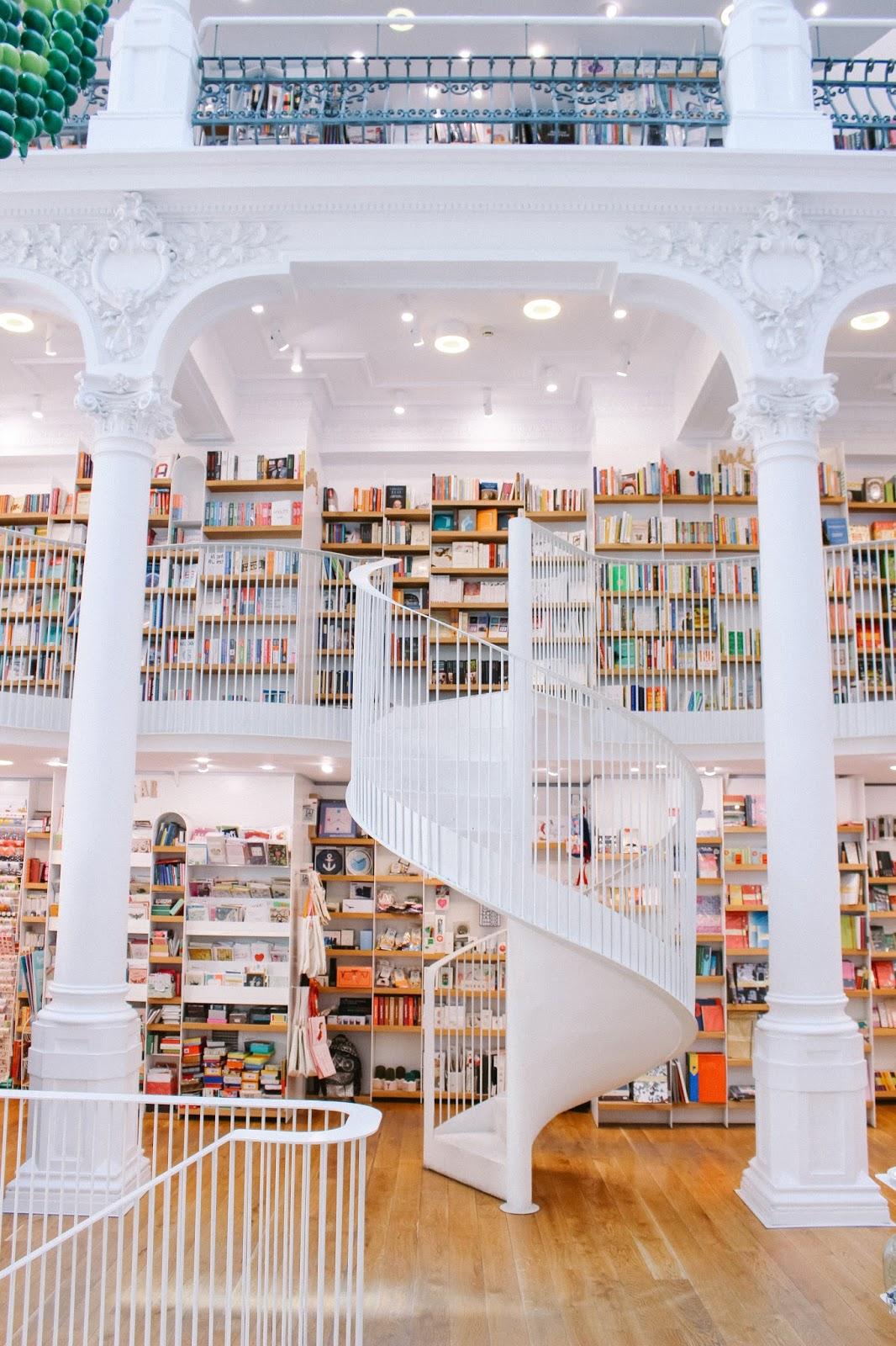 Librería Carturesti en Bucarest