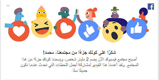 كم عدد المستخدمين النشطين على فيسوك ؟