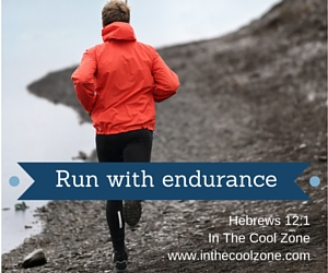 Run with endurance.