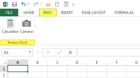 Cara Membuat Grup Ribbon Favorit di Excel