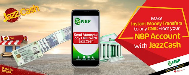 JazzCash and NBP Launch Pay-to-CNIC Option