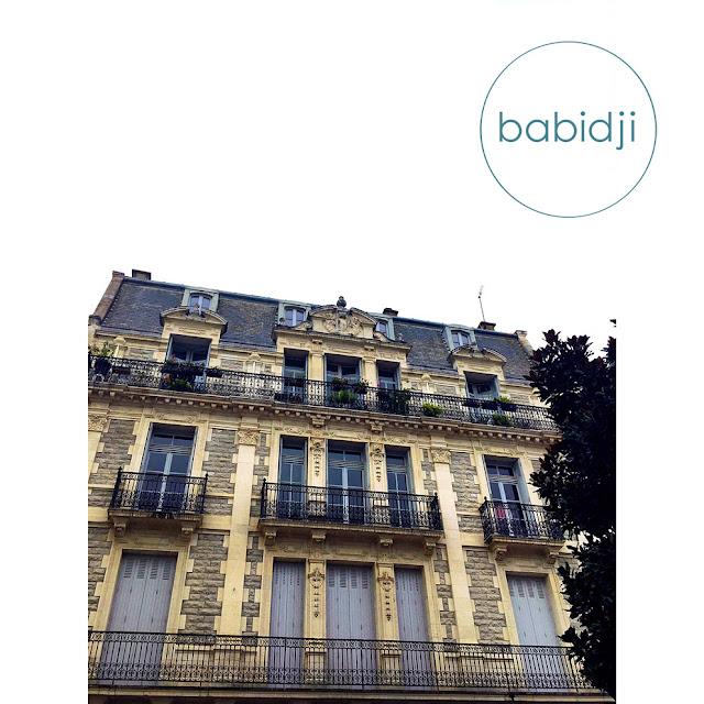 façade d'une maison bourgeoise à Biarritz