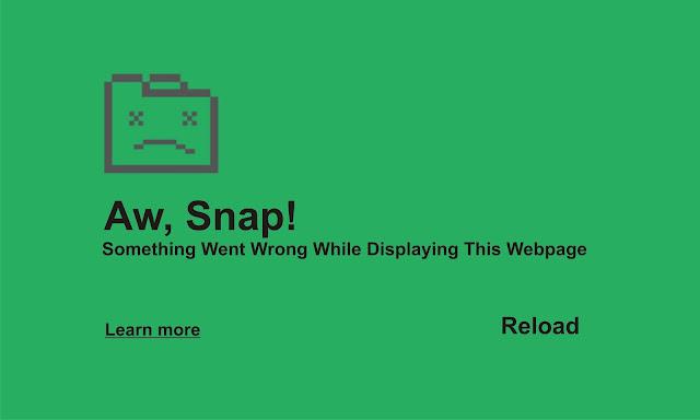 Something Went Wrong While Displaying This Webpage Cara Praktis Atasi AW SNAP! Something Went Wrong While Displaying This Webpage