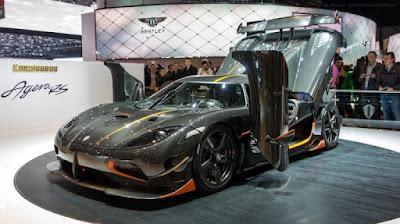 Les voitures les plus rapides du monde - Koenigsegg Agera RS (278 Mph)