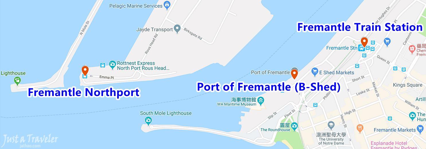 澳洲-西澳-伯斯-景點-羅特尼斯島-Rottnest Island-渡輪-Fremantle-港口-推薦-自由行-交通-旅遊-遊記-攻略-行程-一日遊-二日遊-必玩-必遊-Perth