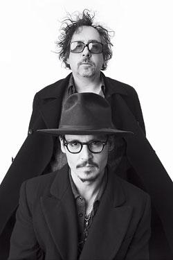 Tim Burton y Johnny Depp volverán a trabajar juntos en Dark Shadows
