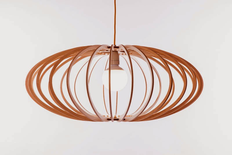Wood & Bamboo Pendant Lights 17