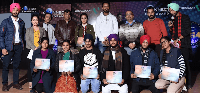 Videocon Connect Conducts 'Young Manch 4' City Finale in Patiala