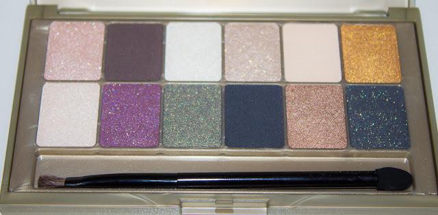 La palette 24 Karat Nudes de Maybelline