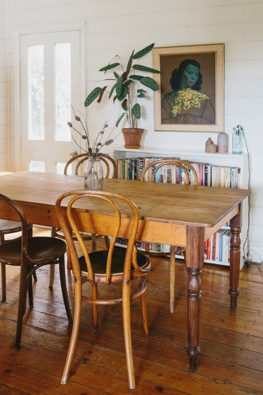My scandinavian home a super relaxed boho cottage in for Dining room ideas australia