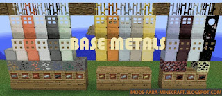 Base Metals Mod para Minecraft 1.8/1.8.9