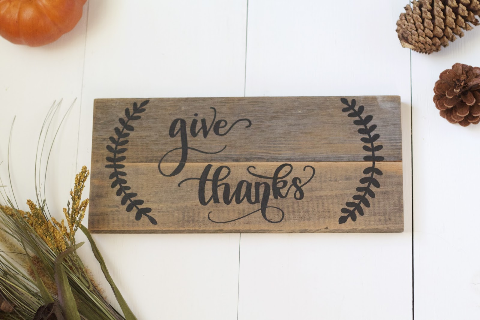 See more Etsy listings from Wild Cedar Co // https://www.etsy.com/listing/465134290/give-thanks-wood-sign-autumn-wood-sign?ref=shop_home_feat_1