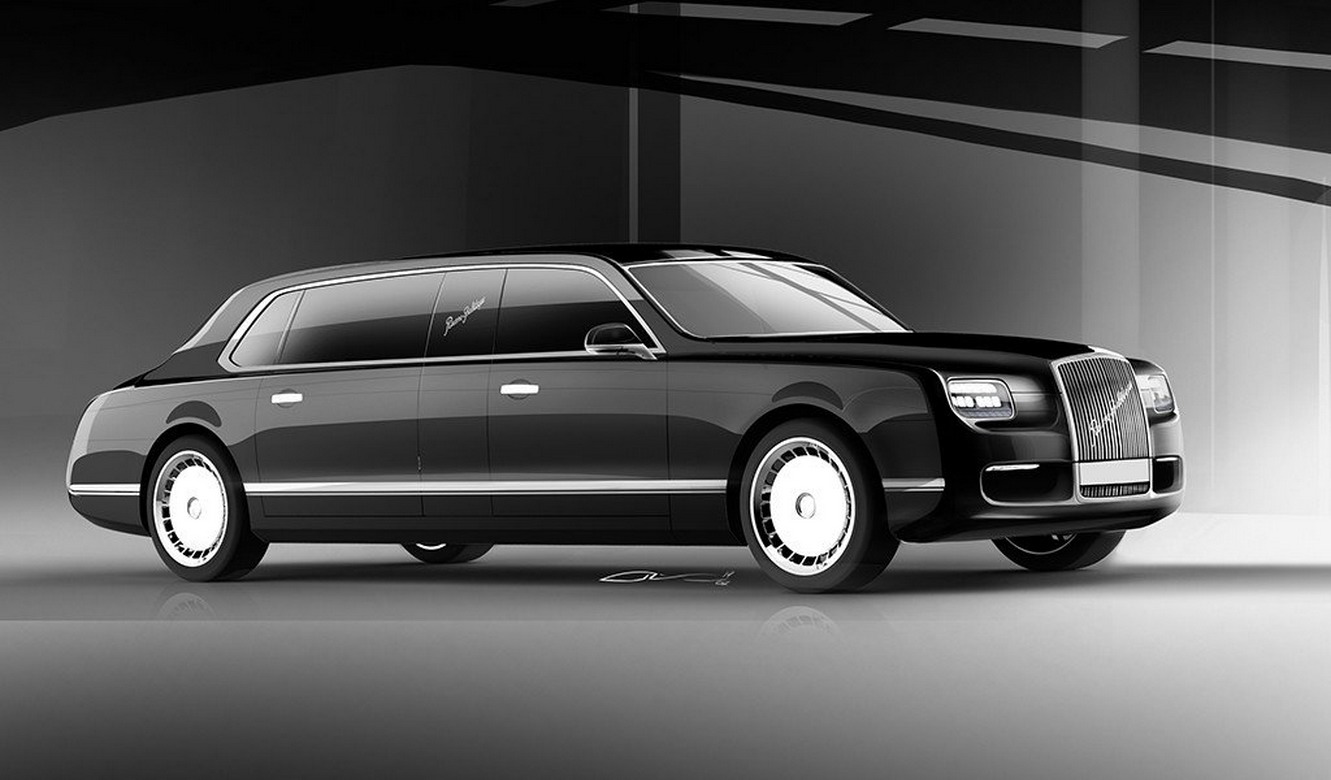 Putin's Russian State Sedan, Limo And SUV Look Eerily ...