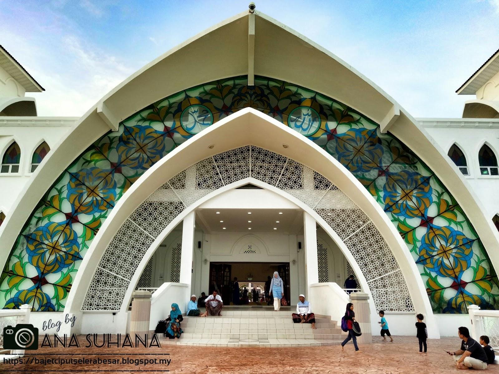 Masjid Selat, Pulau Melaka