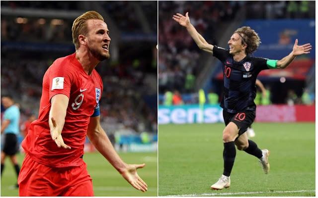 موعد مباراة إنجلترا وكرواتيا في نصف نهائي كأس العالم روسيا 2018