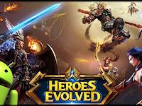 Heroes Evolved MOD APK Premium v1.1.12.0 Terbaru for Android