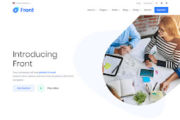 Front V.2.0 NULLED - Multipurpose Bootstrap Template