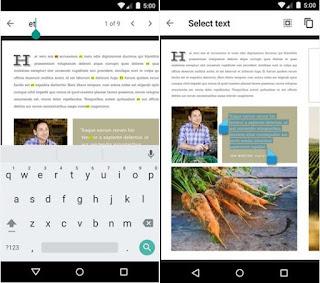 aplikasi pdf reader di smartphone android, google penampil pdf