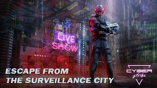 Cyber Strike - Infinite Runner Mod