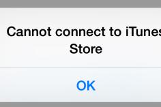 Perbaiki Error Cannot Connect To iTunes Store Atau App Store.