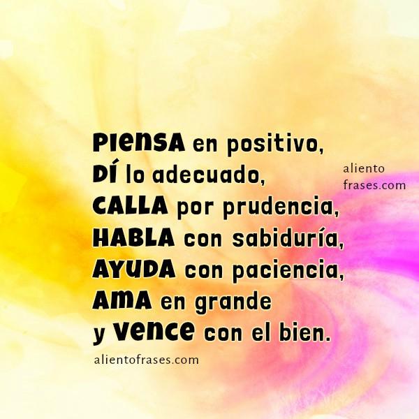 Frases cortas de reflexión y ayuda, imagen con frases de aliento por Mery Bracho, mensaje de motivación para amigos