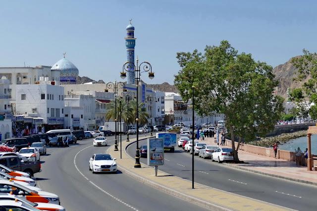 Corniche, Mutrah, Muscat, Hafen, Promenade, Hafenpromenade, Oman