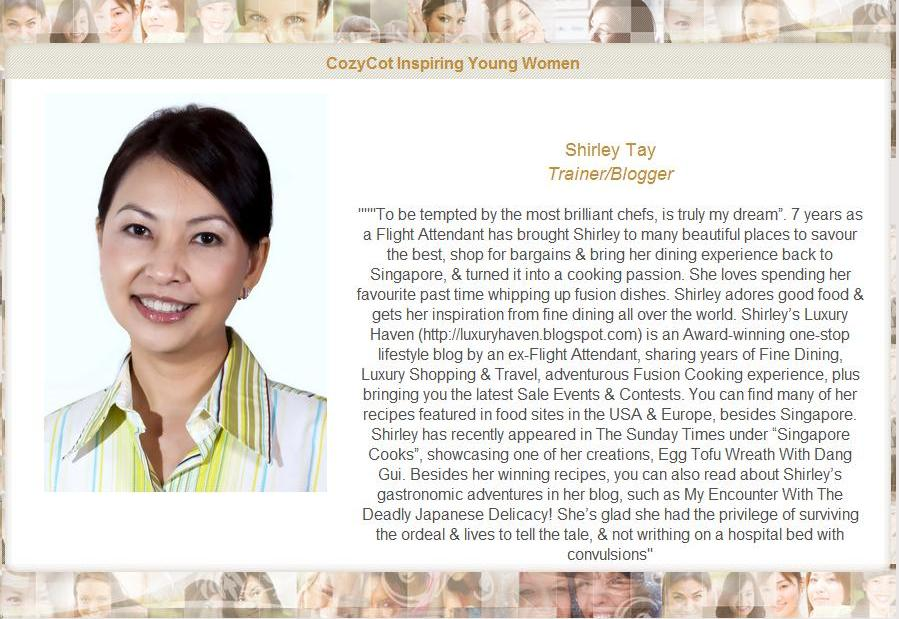 Listed As 120 Most Inspiring Real Women for Int'l Women's Day