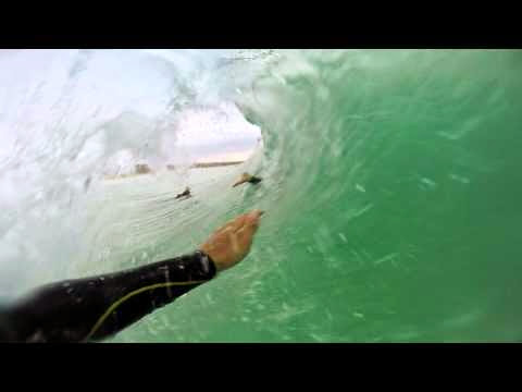 Aranburu s Beachbreak Barrel - GoPro Challenge