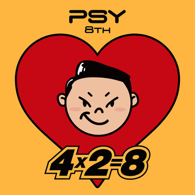 PSY - PSY 8th 4X2=8 (2017) - Album Download, Itunes Cover, Official Cover, Album CD Cover Art, Tracklist