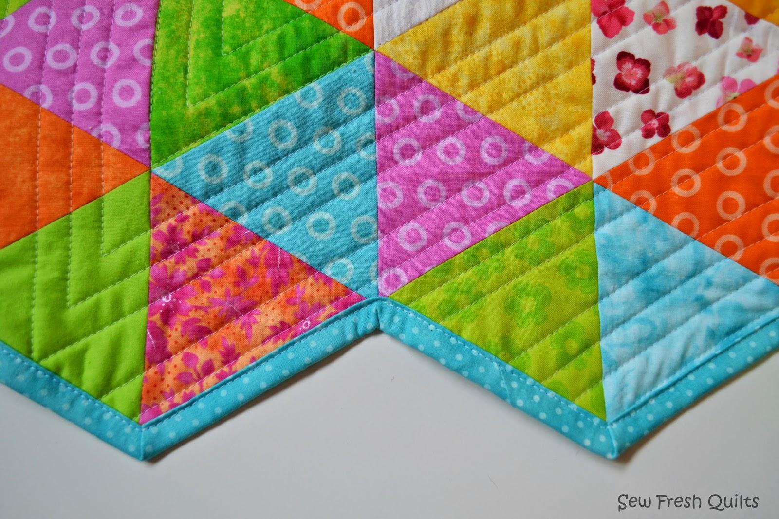 Sew Fresh Quilts: Binding Inside Corners Tutorial : sewing binding on quilt corners - Adamdwight.com