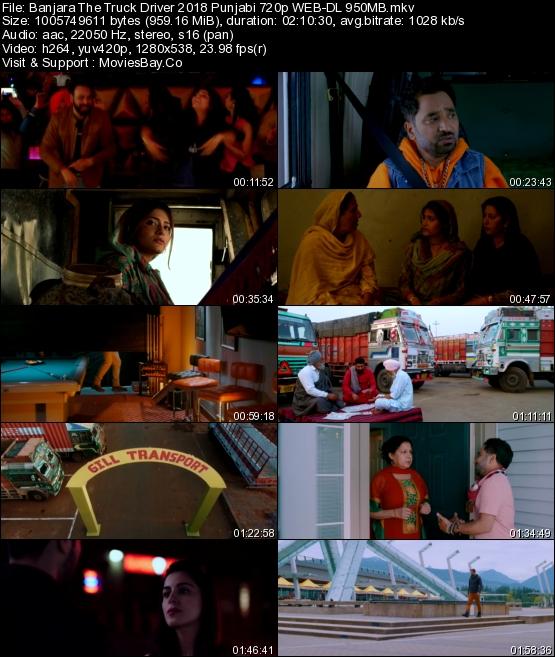 Banjara The Truck Driver 2018 Punjabi 720p WEB-DL 950MB